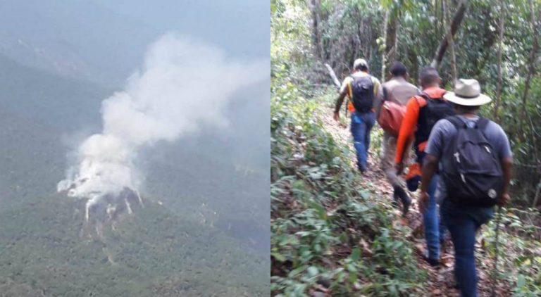 COPECO: Especialistas continuarán inspección de Pico Bonito vía aérea el lunes