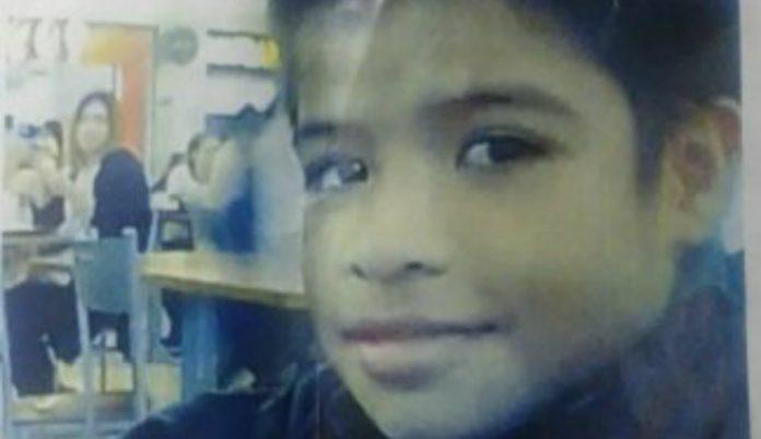 niño desaparecido en Comayagüela