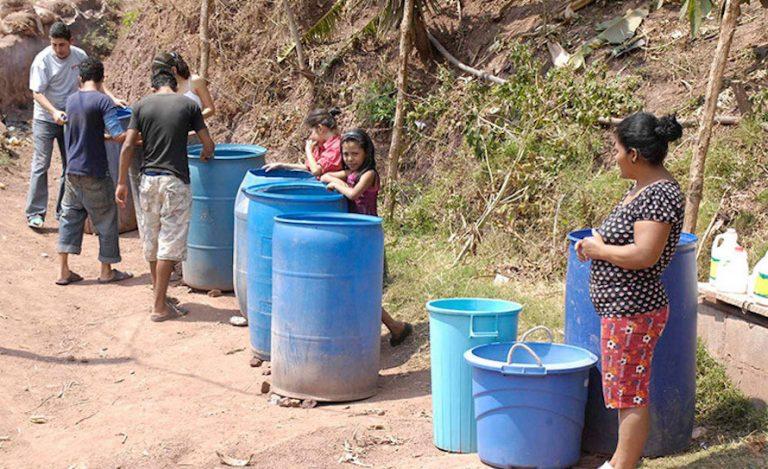 SÁBADO: corrobore los horarios de abastecimiento de agua en Tegucigalpa