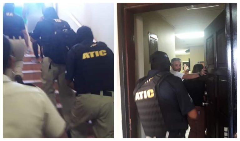 ATIC interviene y secuestra documentos en el Registro Nacional de las Personas