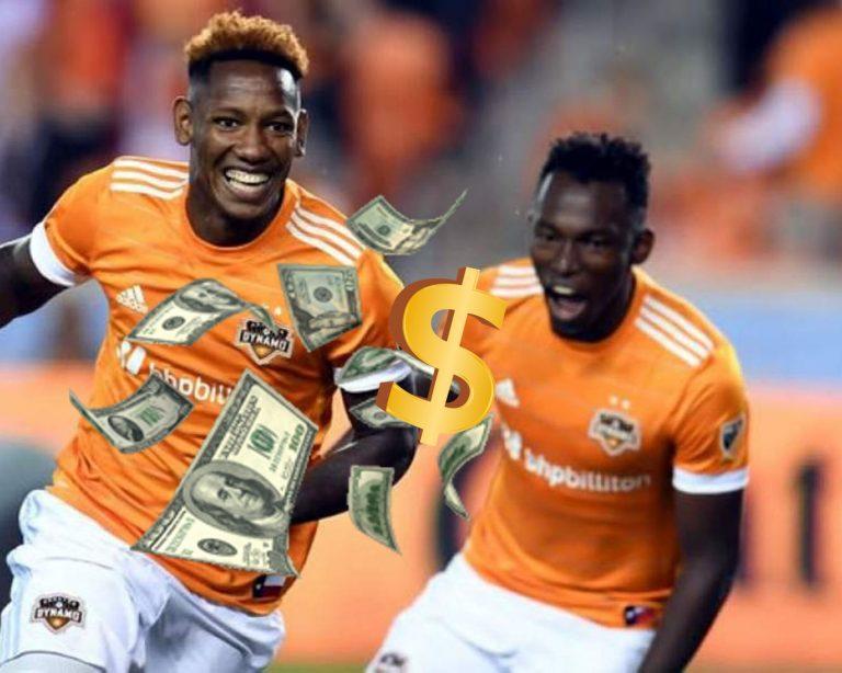 Alberth Elis y Romell Quioto entre los mejor pagados del Houston Dynamo