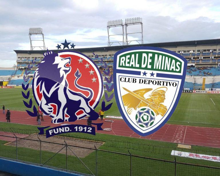 HOY: Olimpia y Real de Minas se enfrentan en San Pedro Sula