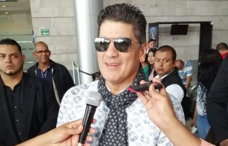 """Eddy Herrrera en Tegucigalpa: """"Me han dicho que la gente aquí es muy fiestera"""""""