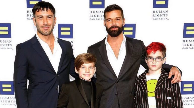 """Estamos embarazados"": Ricky Martin anuncia que espera un cuarto hijo"