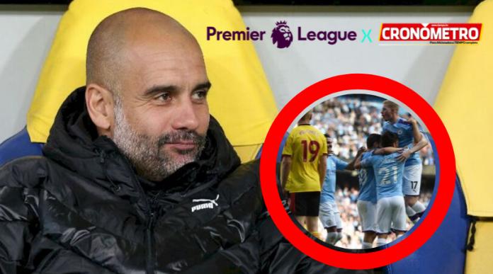 PREMIER LEAGUE: Goleada histórica del Manchester City sobre el Watford