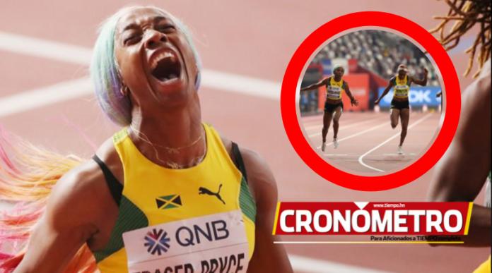 Mundial de Doha: Fraser-Pryce repite corona como campeona mundial de 100m
