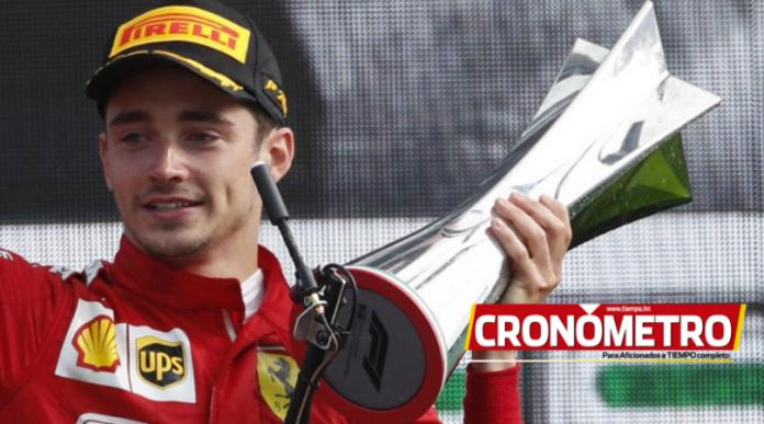 Algarabía en Ferrari por obtener el Gran Premio de Italia