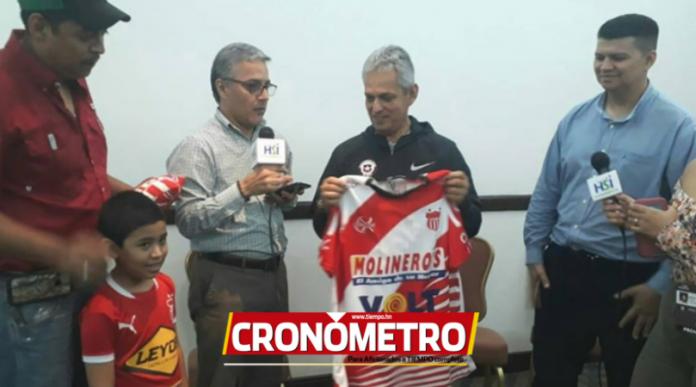 ¡SORPRESA! Reinaldo Rueda ya tiene su camisa del Vida