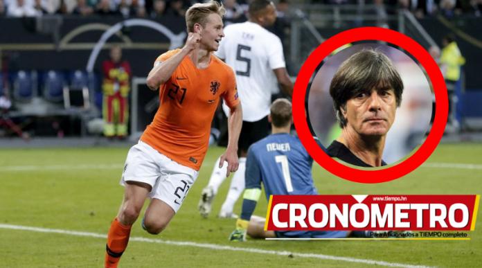 Holanda le propina un