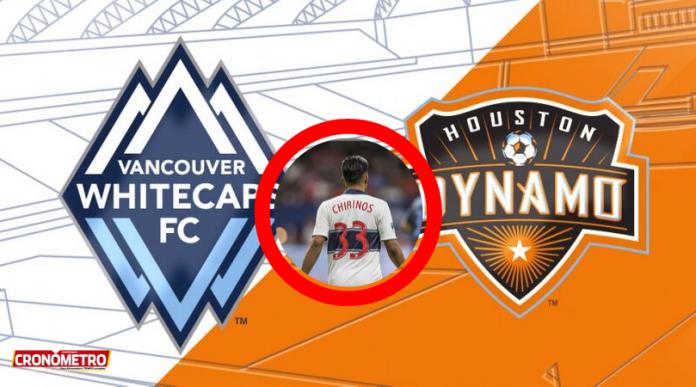 LEGIONARIOS: Michaell Chirinos sale victorioso del Whitecaps-Dynamo en la MLS