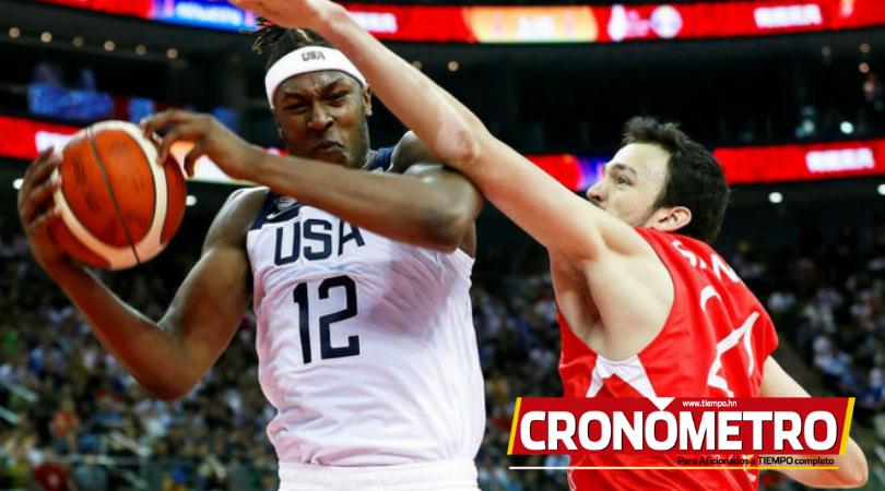 Estados Unidos sufre en su victoria sobre Turquía en el Mundial de Baloncesto