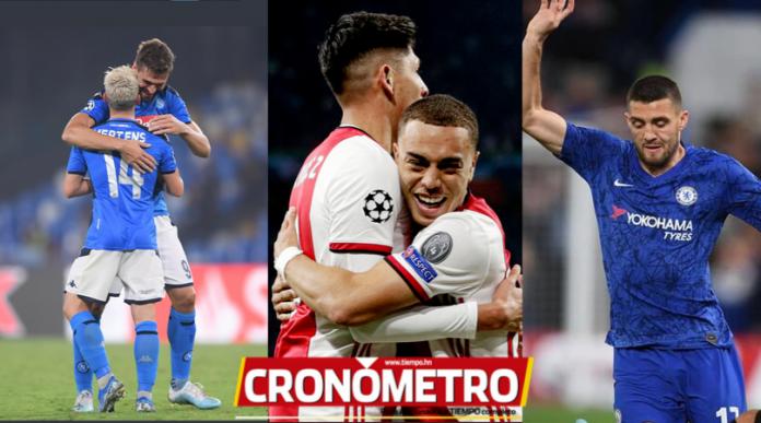 Champions League: Napoli derrota al campeón, Ajax golea y el Chelsea...