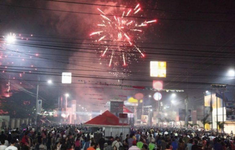 La alegría invade a los capitalinos en el gran carnaval de Tegucigalpa