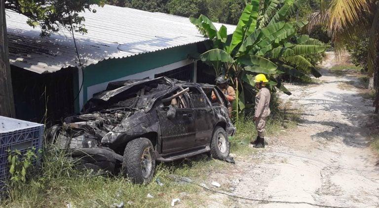 Choloma: Una fémina muerta y tres heridos deja fatal accidente en la Ceden