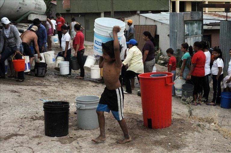 Jueves: horarios y colonias donde habrá agua en Tegucigalpa