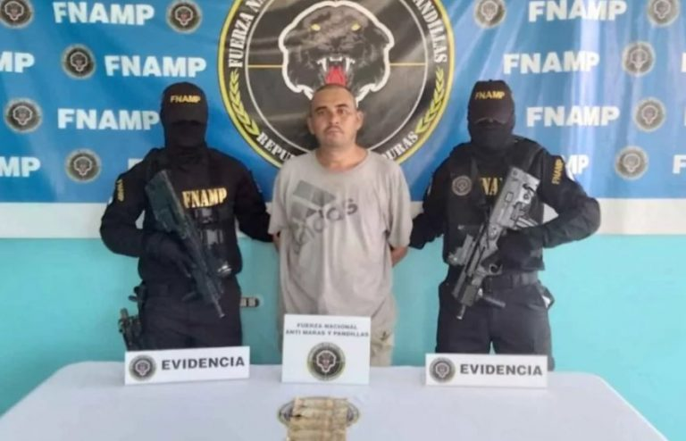 La Ceiba: detienen a supuesto pandillero al que acusan de extorsionador