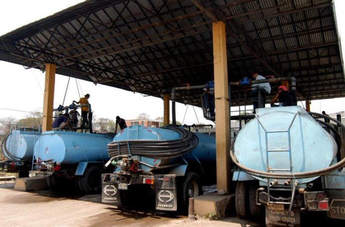 centros de abastecimiento de agua