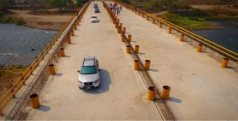 Puente del río Humuya: «malversaron fondos y no tiene calidad», según MP