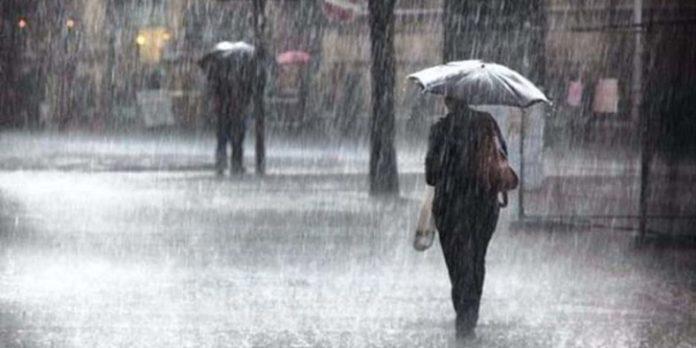lluvias y chubascos