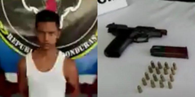 """Honduras: capturan a """"El Pícaro"""", supuesto extorsionador de La Ceiba"""