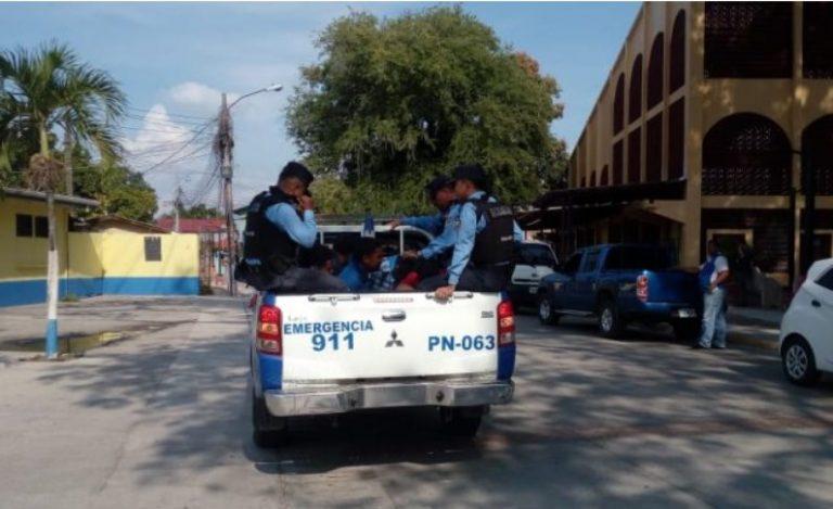 La Lima: presuntos miembros de la MS-13 disparan contra la PN y los capturan