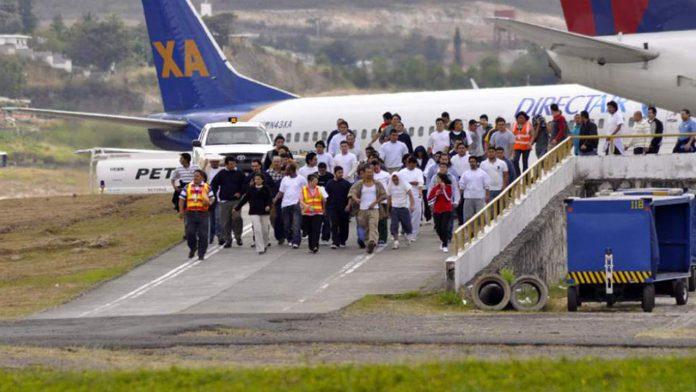 Deportados a Honduras