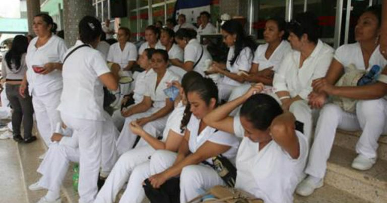 Enfermeras auxiliares inician asambleas informativas a nivel nacional