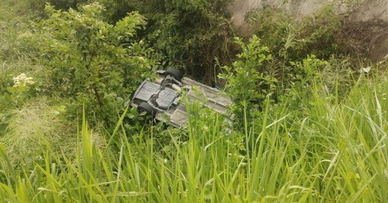 Cortés: un joven muerto y dos heridos deja fatal accidente en desvío a El Milagro
