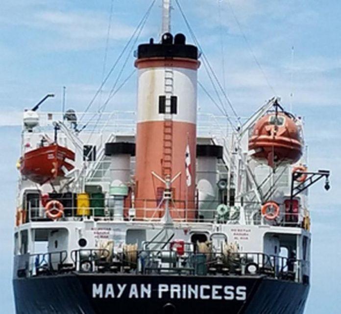 embarcación hondurena