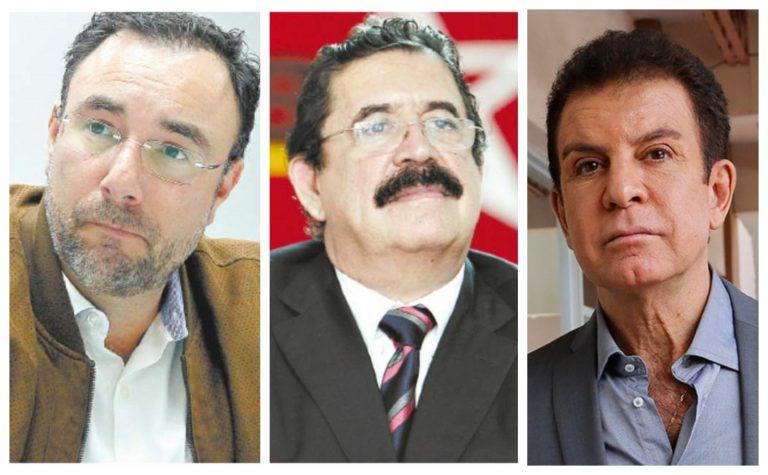 Mel, Nasralla y Luis Zelaya se reúnen para unificar la Oposición y exigir salida de JOH
