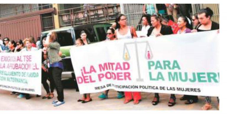 CEMH demanda incluir derechos de mujeres en normativas del CNE y el TJE