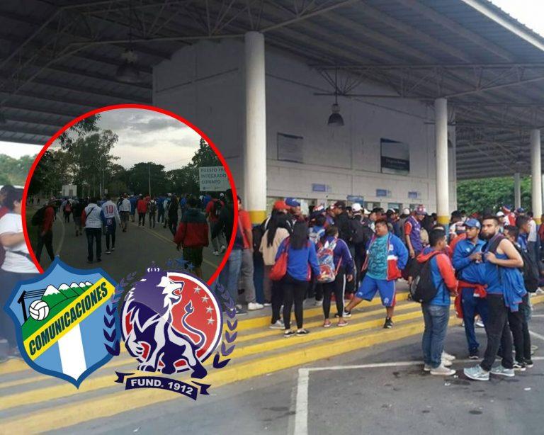 """¡Una locura! Aficionados olimpistas """"abarrotan"""" frontera de Guatemala"""