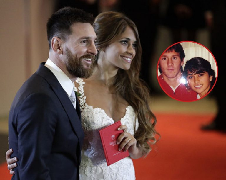 La foto de Messi junto a Antonela que el argentino sacó del baúl