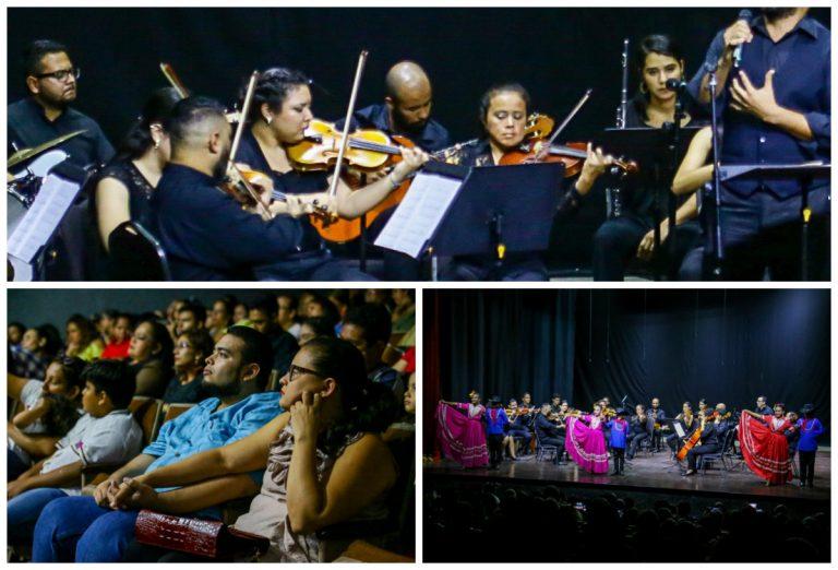 Con sendos conciertos, alcaldía camina a convertir SPS en ciudad de la Cultura