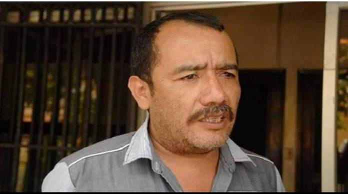 Dirigente magisterial Jaime Rodríguez