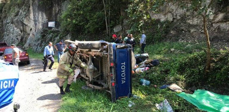Identifican a las cinco víctimas de fatídico accidente en La Esperanza, Intibucá