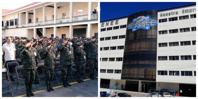 Fuerzas Armadas adeuda millones a la ENEE