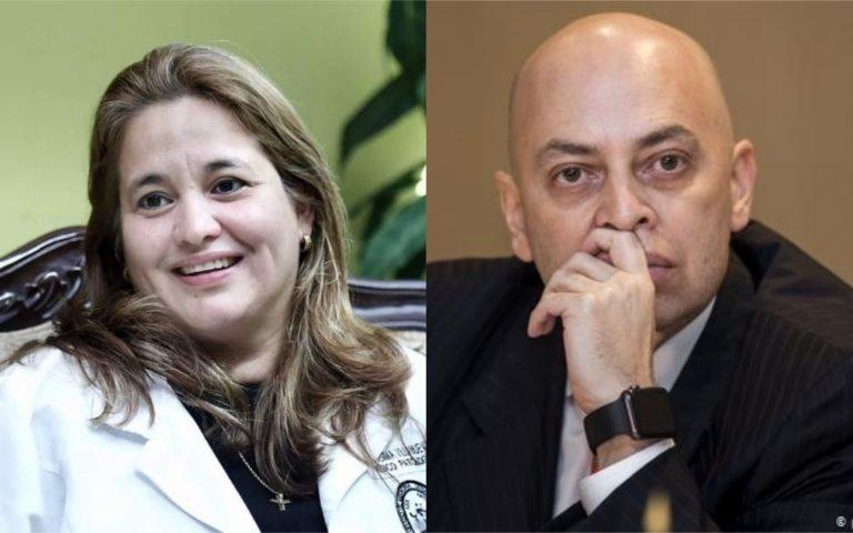 """Julissa Villanueva a Fiscal General: """"¿Cree que me va a intimidar?"""""""