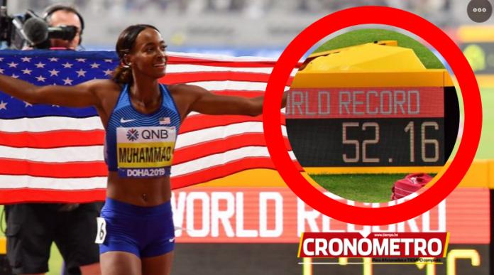 Mundial de Doha: Dalilah Muhammad rompe récord mundial de 400 vallas
