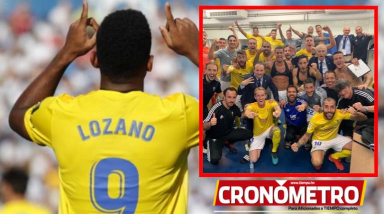 """Un """"Choco"""" de a tres; Anthony Lozano anota en victoria del Cádiz"""
