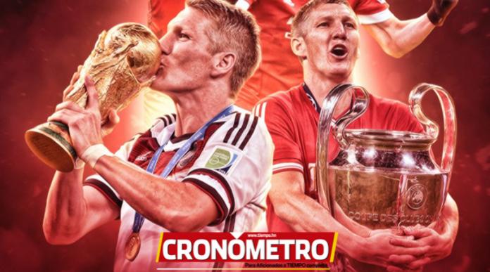 Bastian Schweinsteiger anuncia su retiro definitivo del fútbol