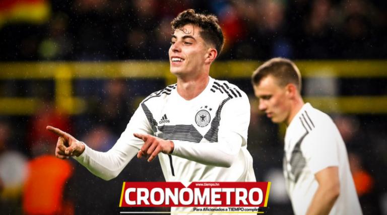 FECHA FIFA: Argentina y Alemania empataron 2-2 desde el Signal Iduna Park