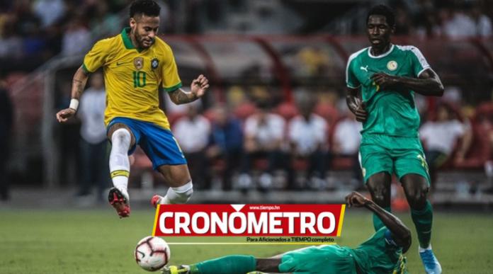 Senegal arruina partido centenario de Neymar Jr y empata 1-1 con Brasil