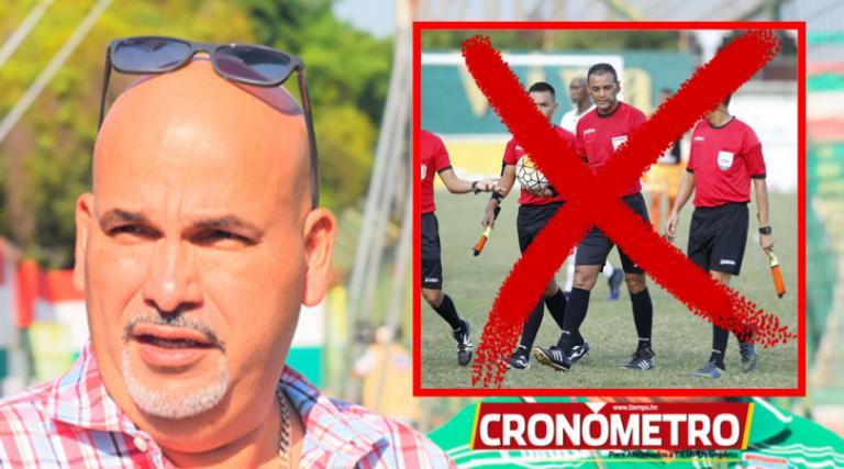 LIGA NACIONAL: Marathón peligra de no contar con árbitros en sus partidos