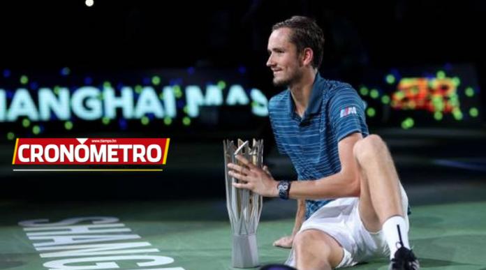 ATP: Daniil Medvedev se corona campeón del Masters 1000 de Shanghái
