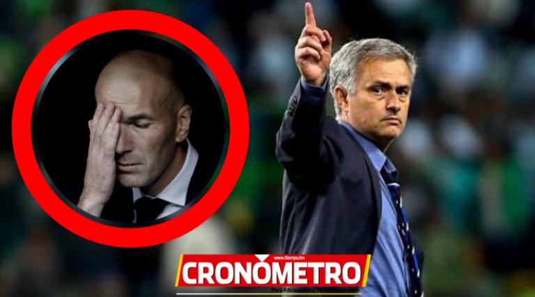 """Mourinho alista su regreso al Madrid ante un """"ultimatum"""" a Zidane"""