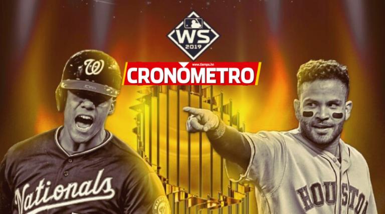 Astros y Nationals definen al campeón de la Serie Mundial