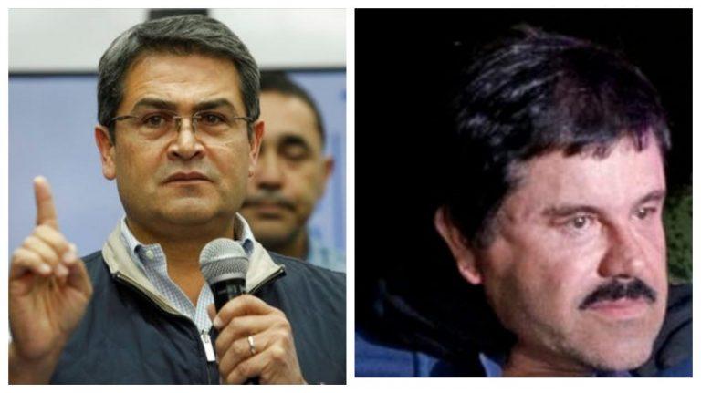"""Casa Presidencial niega que JOH recibió dinero de """"El Chapo"""""""