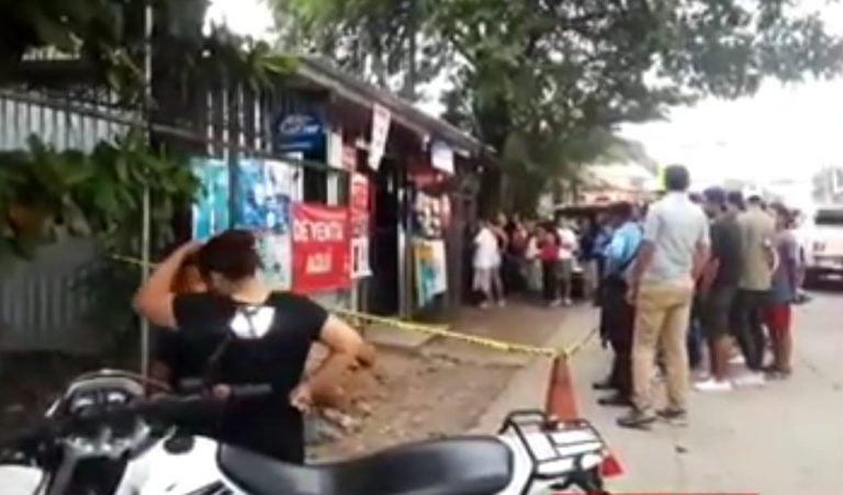 Matan a un hombre en asalto a una pulpería en Comayagua