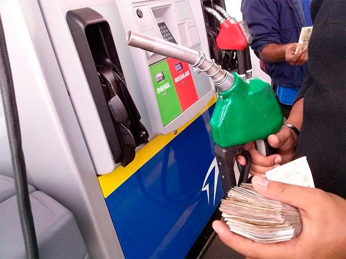 Alza mínima en los precios de los combustibles para la próxima semana